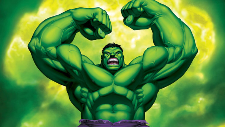 an image of the Hulk in Marvel Comics