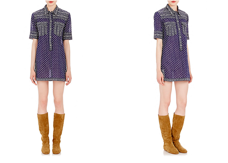 Isabel Marant Etoile Voile Lexine dress - new patterns and prints