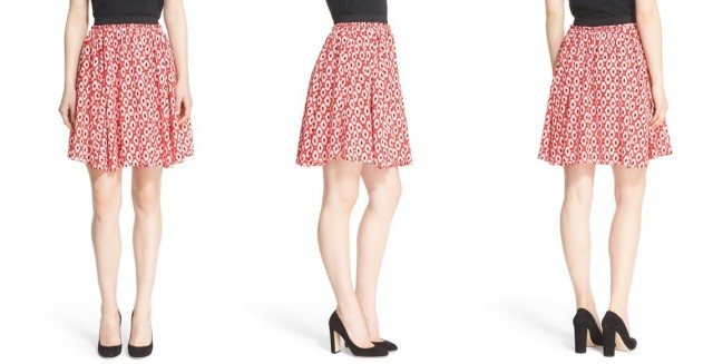 Kate Spade Posy Ikat skirt - new prints and patterns