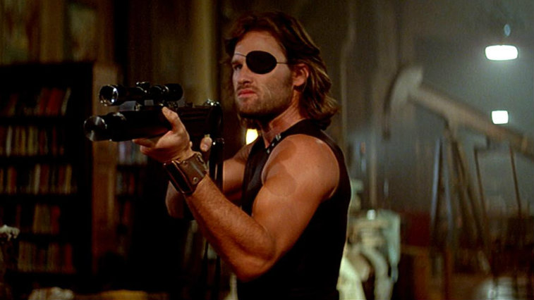 Kurt Russell in Escape from New York