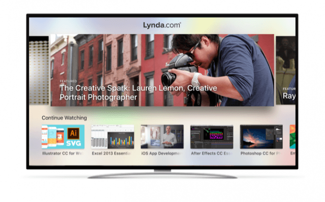 Lynda - Apple TV apps