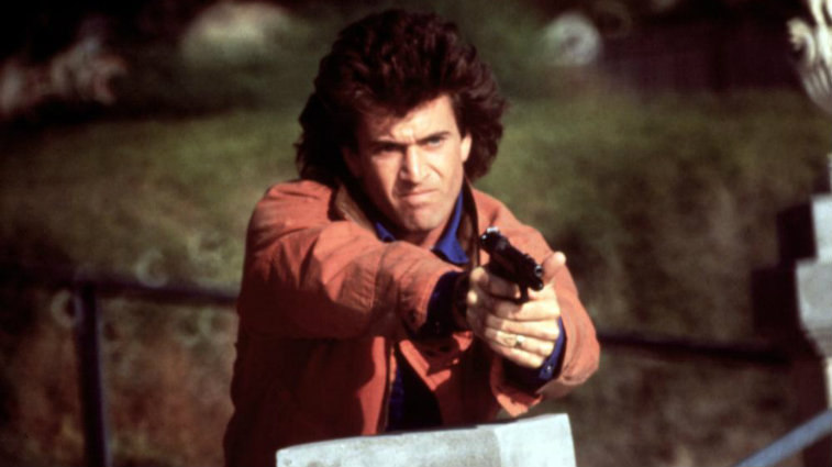 Mel Gibson in Lethal Weapon