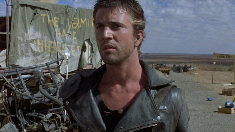 Mel Gibson in Mad Max 2: The Road Warrior