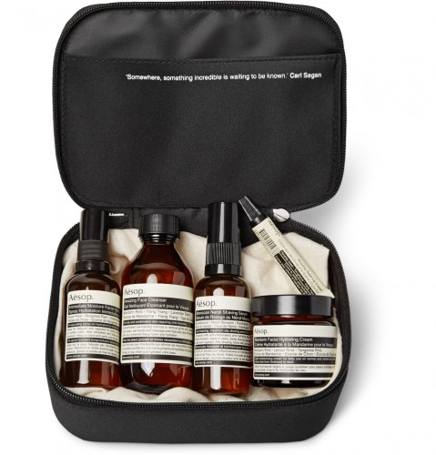 Mr. Porter Aesop kit - road trip essentials