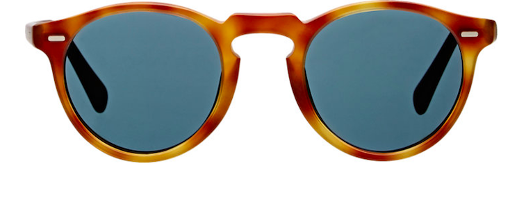 Oliver Peoples Gregory Peck 47 sunglasses - road trip essentials