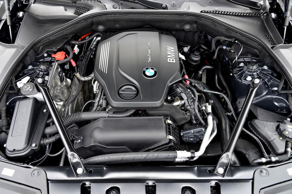 BMW under the hood