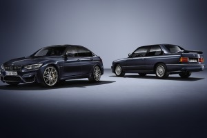 BMW Celebrates 30 Years of the M3