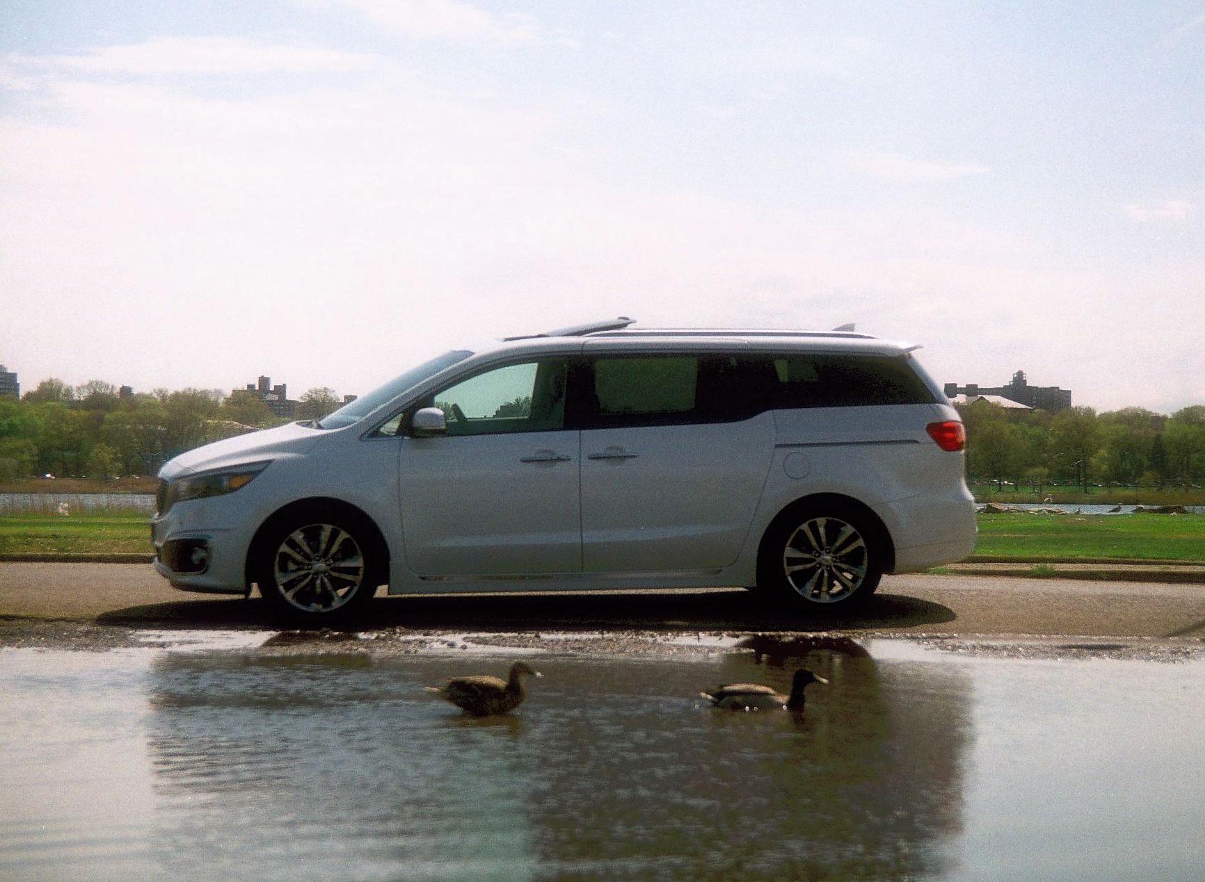 cars minivan ii outstanding kia exterior restyling sedona