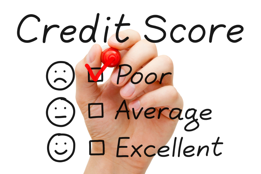 hand checking poor option for credit score