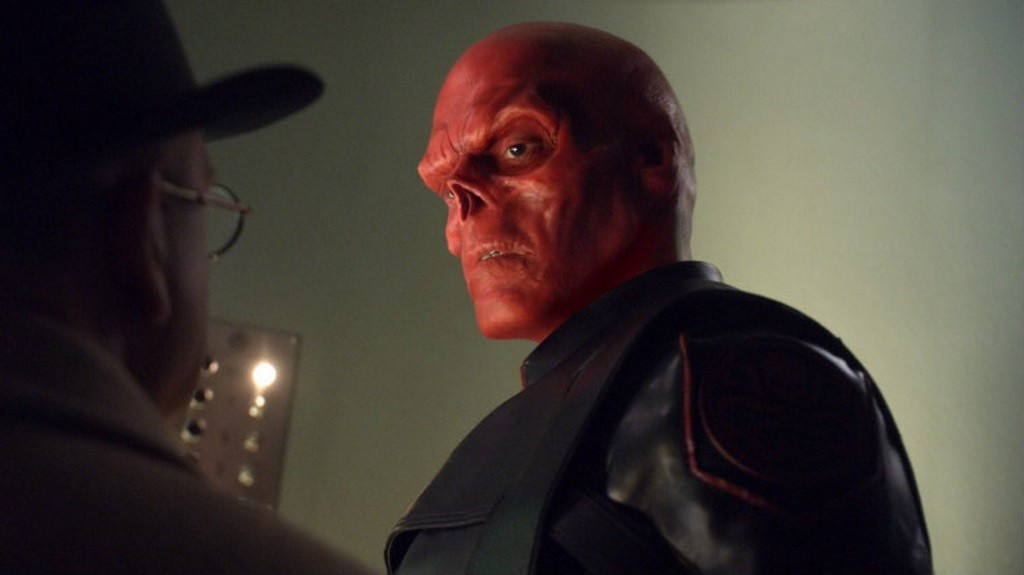 Image result for avengers infinity war thanos red skull