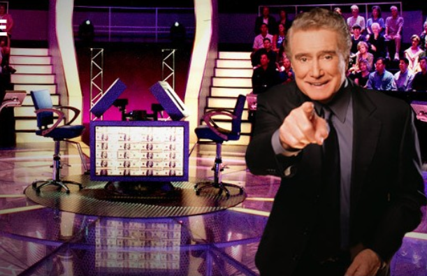 Regis from Who Wants to be a Millionaire