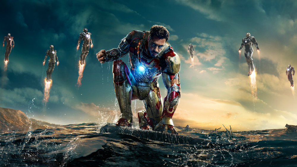 Robert Downey Jr as Iron Man