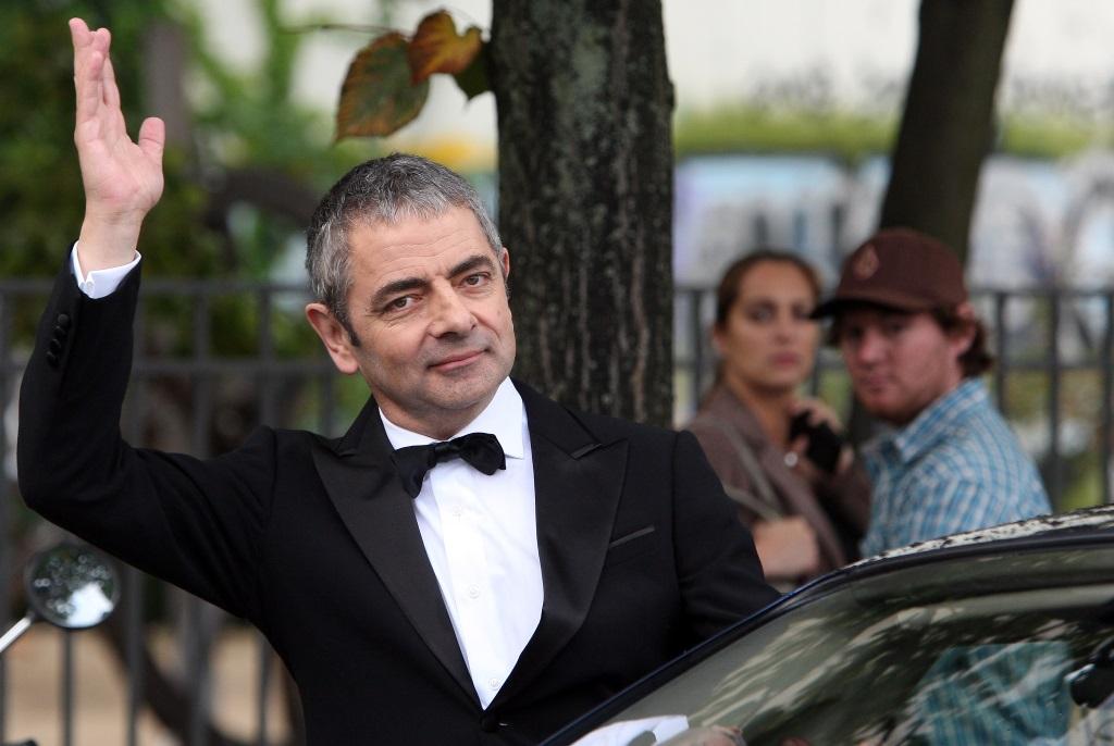 Rowan Atkinson master's degree