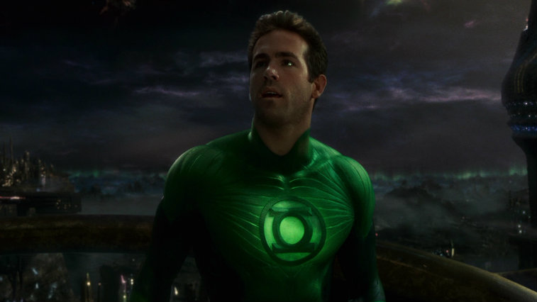 Ryan Reynolds in Green Lantern, origin stories