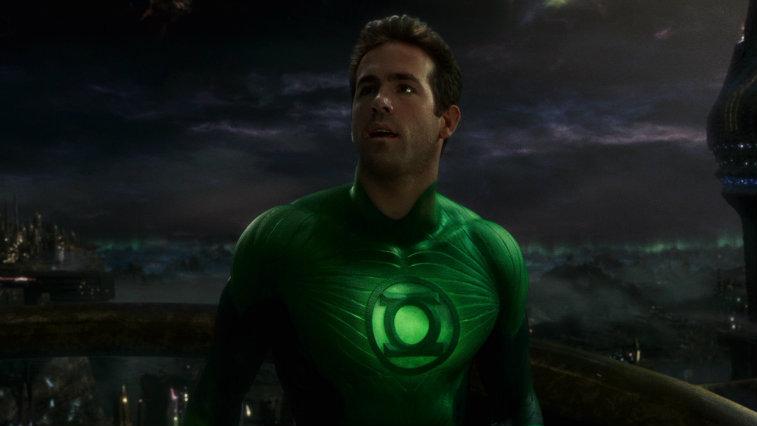 Ryan Reynolds in Green Lantern, origin stories