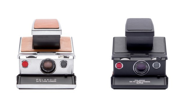 SX-70 Polaroid cameras from The Impossible Project