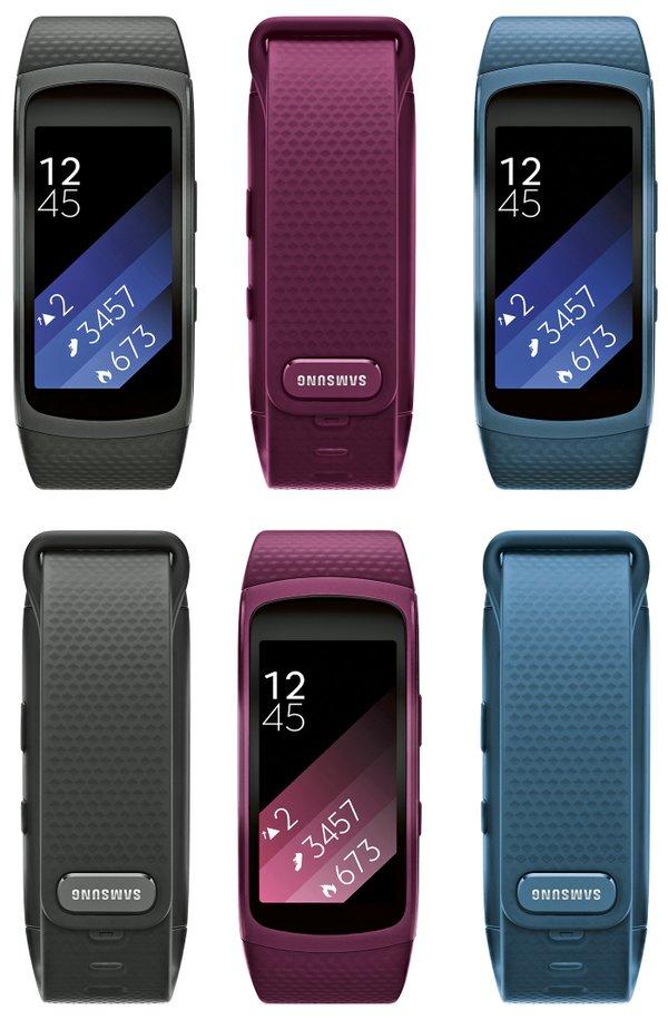 Samsung Gear Fit 2 via Evan Blass