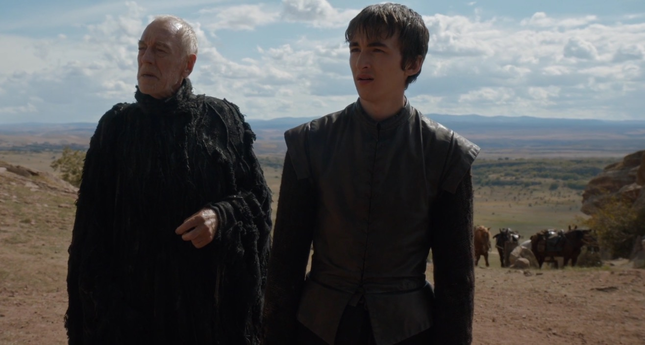 Bran and the Three-Eyed Raven - Game of Thrones