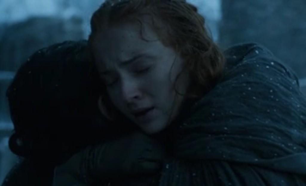 Jon Snow and Sansa Stark - Game of Thrones, Season 6