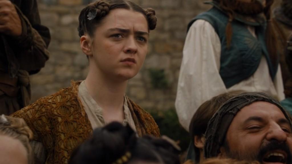 Arya Stark - Game of Thrones, Winterfell
