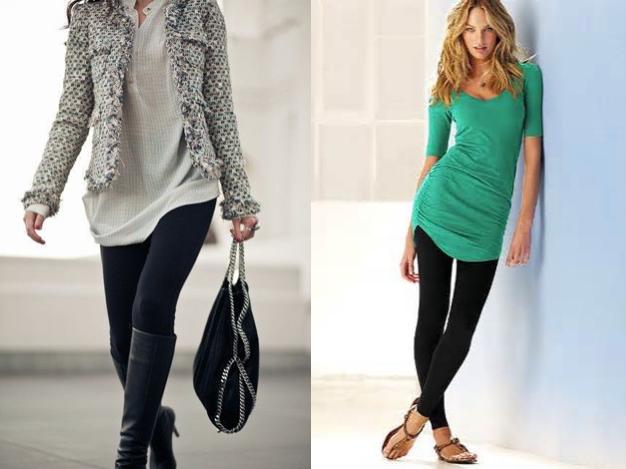 black leggings, women's fashion