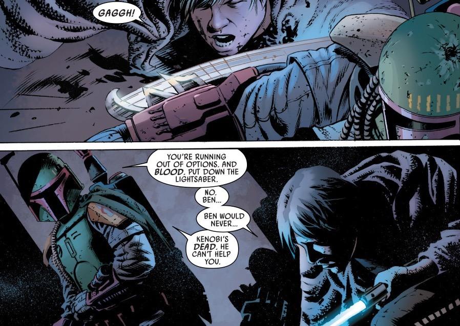 Boba Fett vs. Luke Skywalker - Star Wars