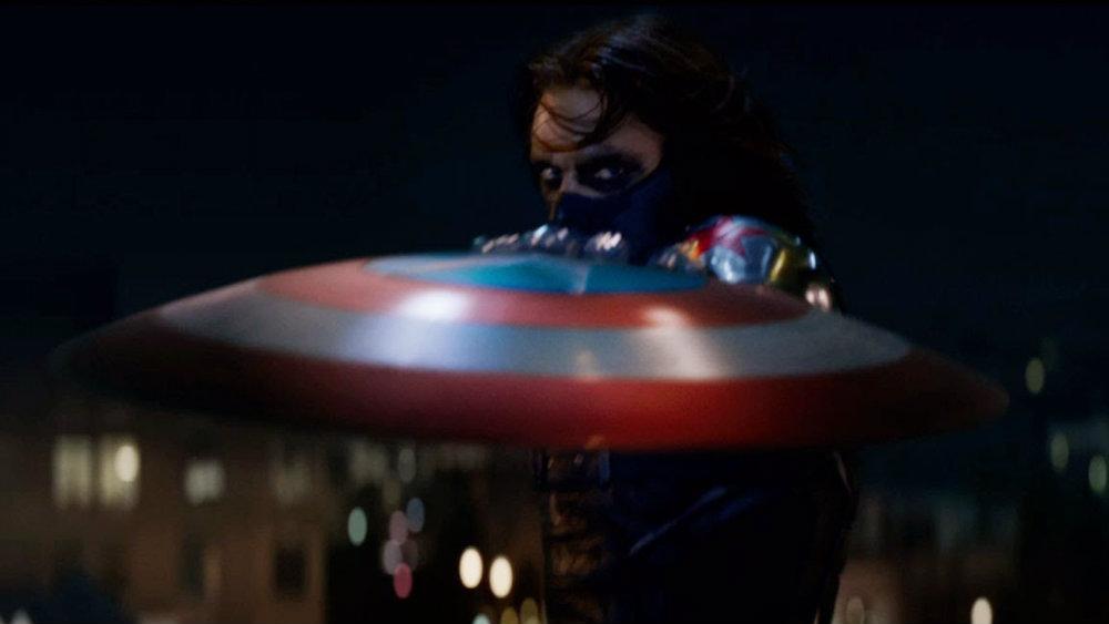 Sebastian Stan in Captain America The Winter Soldier, American Dream