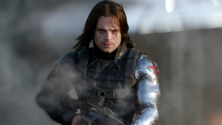 Sebastian Stan in Captain America The Winter Soldier
