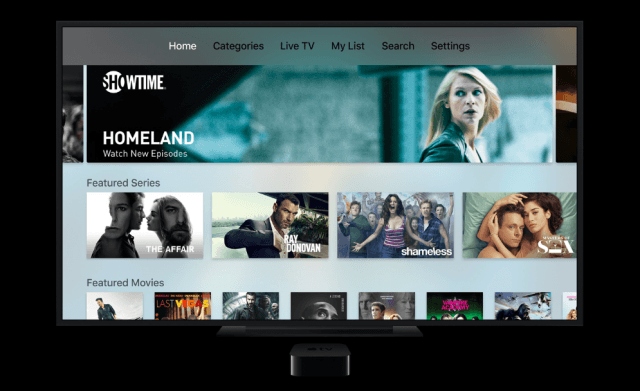 Showtime - Apple TV apps
