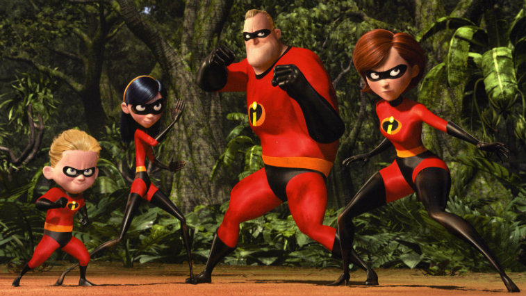 The Incredibles, best superhero movies