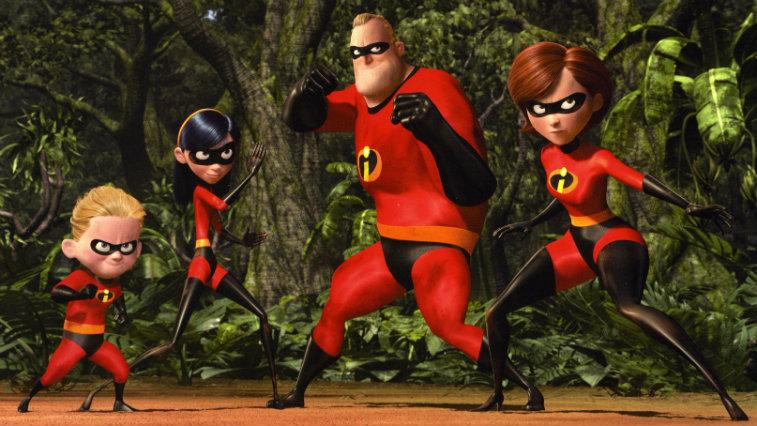 The Incredibles, best superhero movies