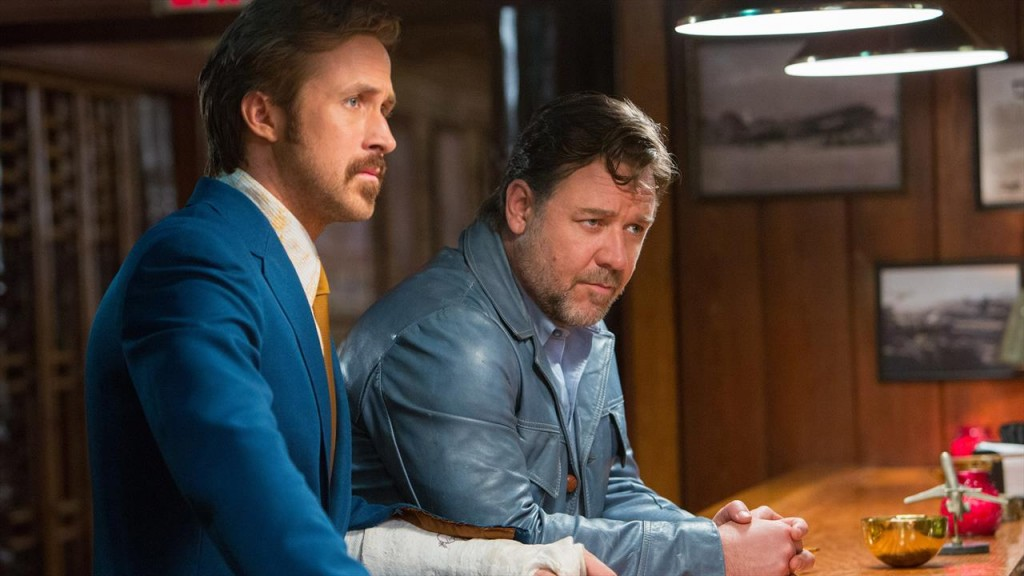 The Nice Guys - Russell Crowe and Ryan Gosling