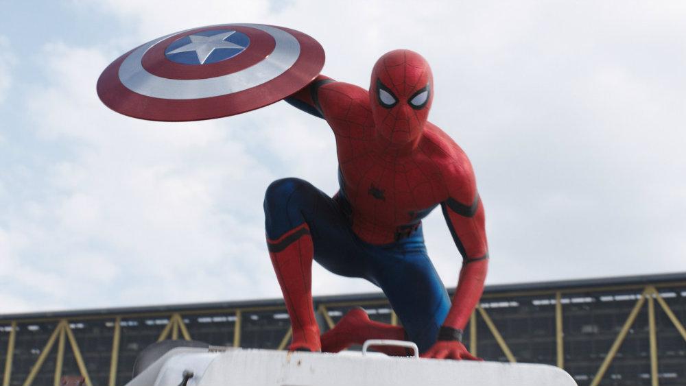 Tom Holland in Captain America Civil War