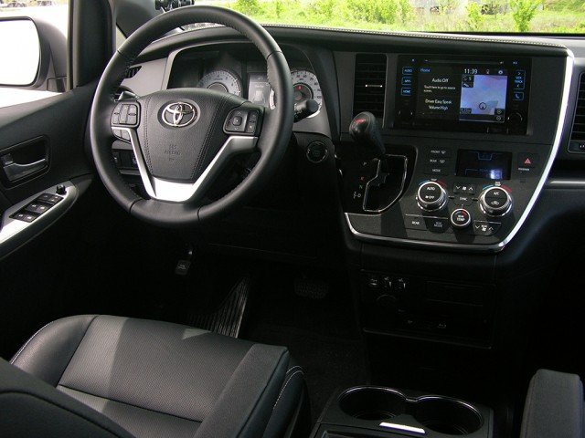 Toyota leather interior