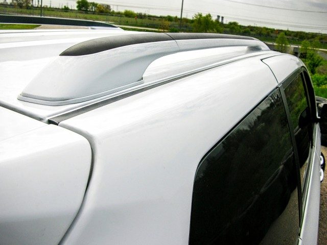Paint matched roof rack