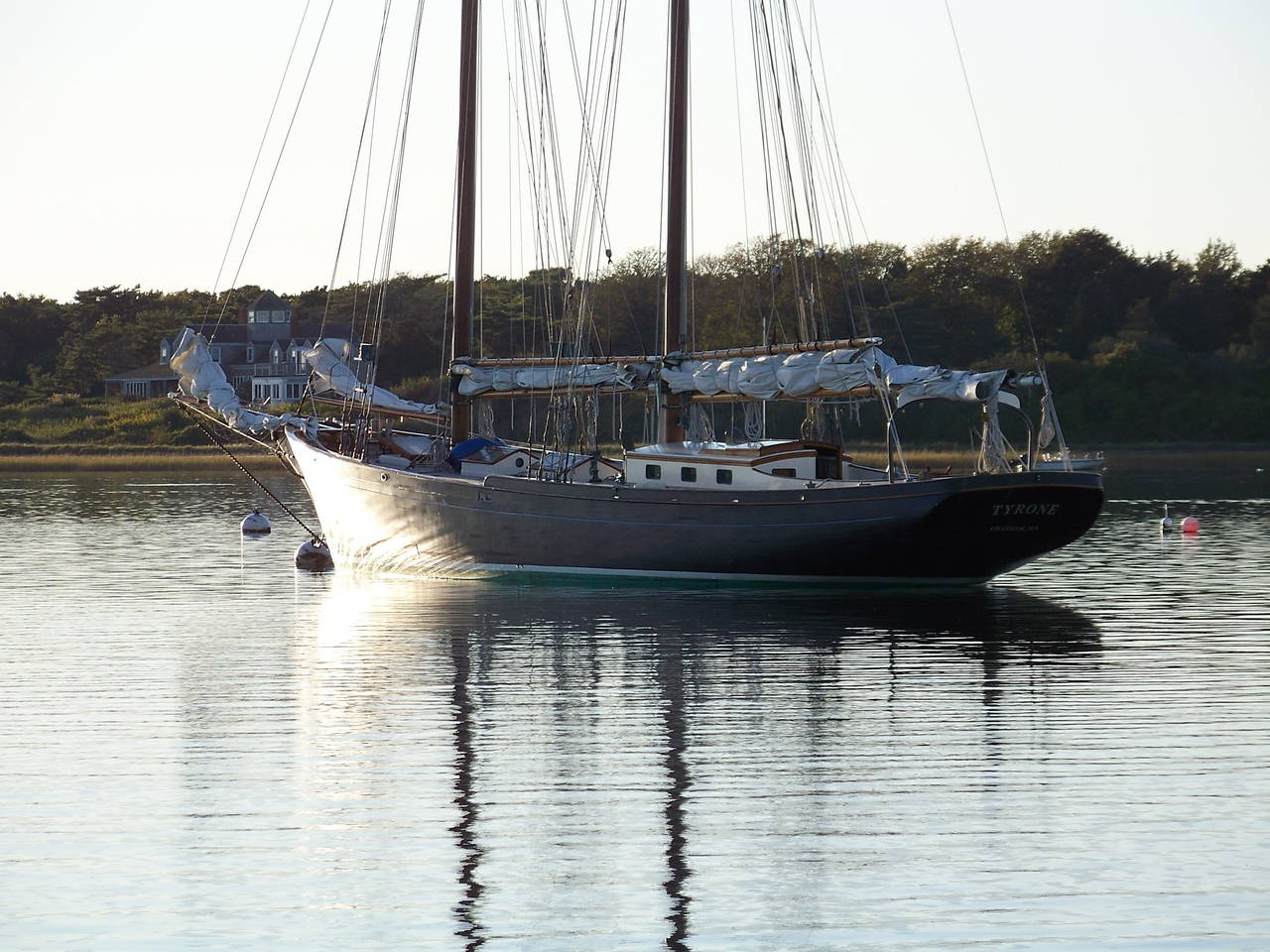 vintage schooner