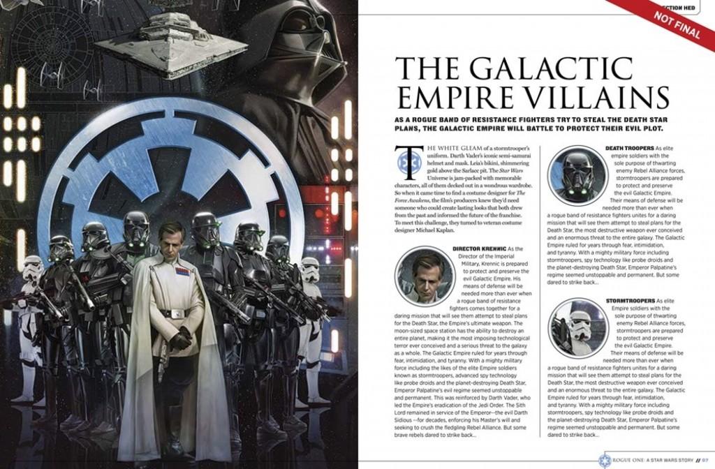 Star Wars: Rogue One Villains