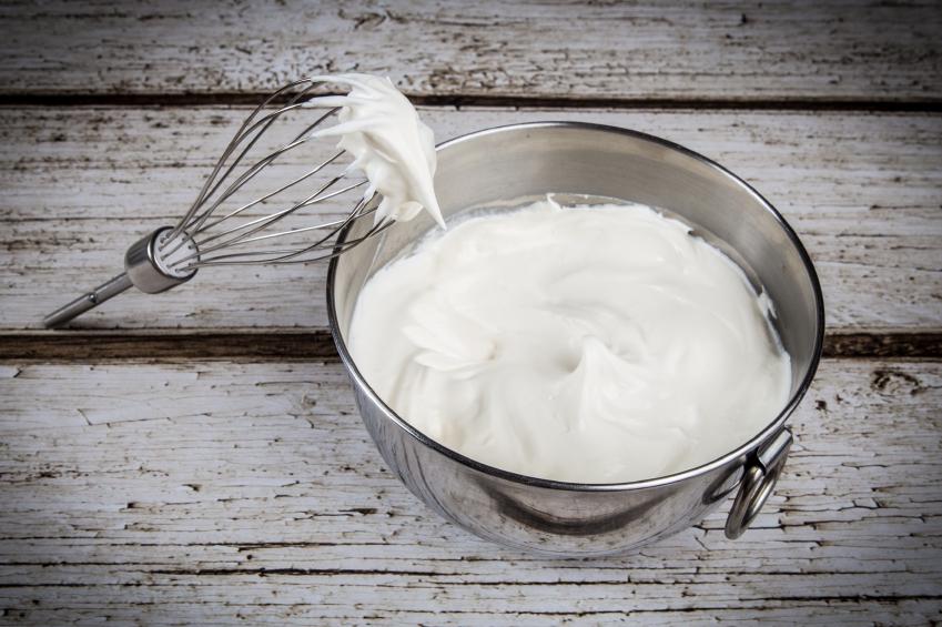 Homemade whipped cream for memorial day dessert