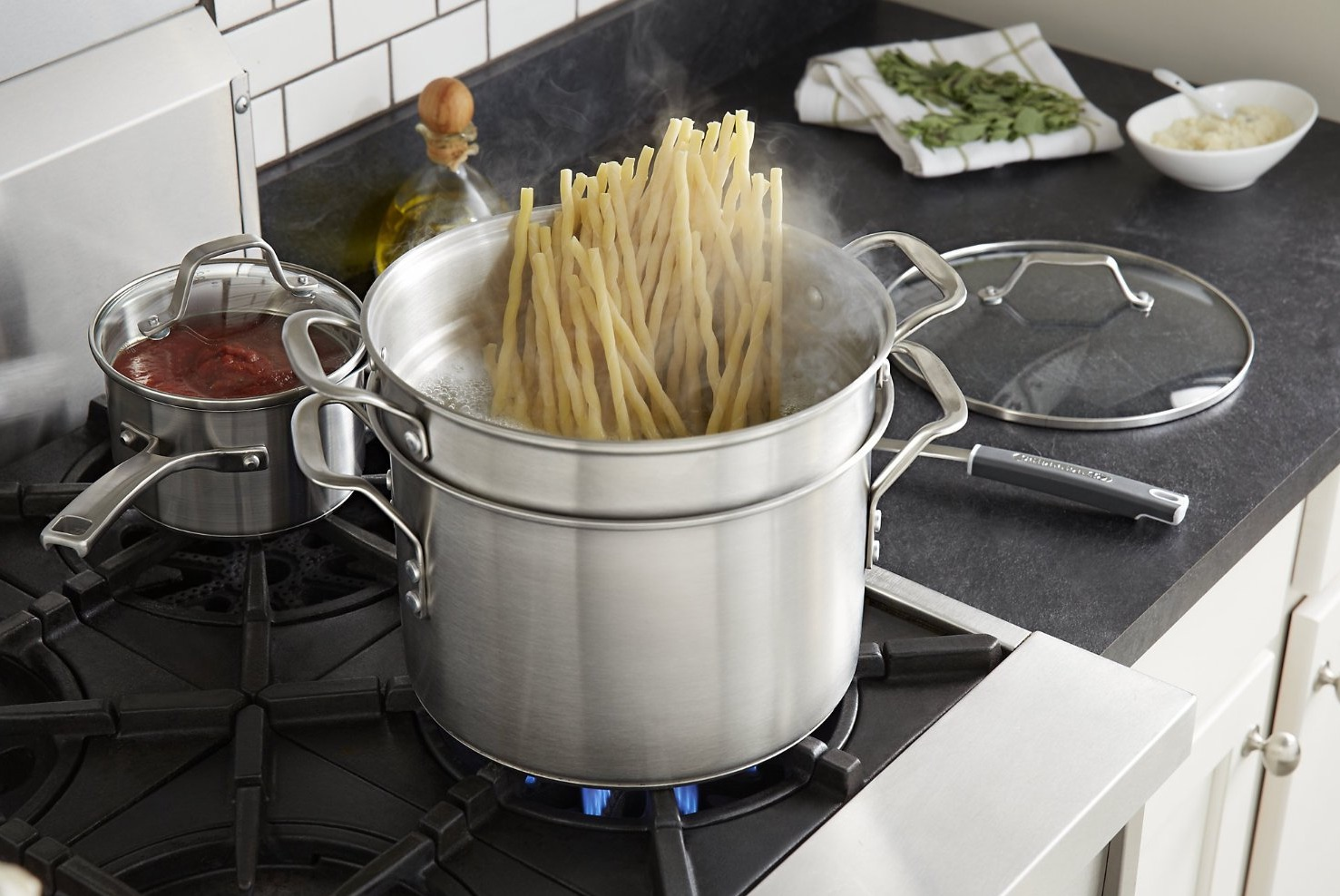 Calphalon Stainless Steel Stock Pot