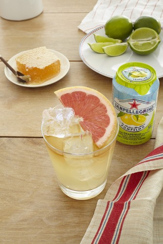 Capitano Cooler with rum and grapefruit