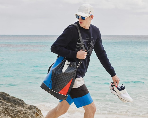 Louis Vuitton America's Cup collection embodies nautical style
