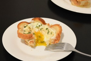 Croque Madame Egg Cups Are an Easier Recipe for French Food