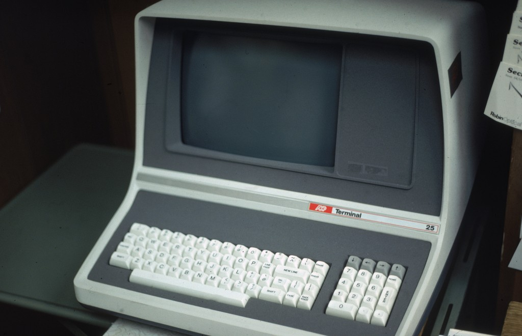 desktop computer from the 1970s