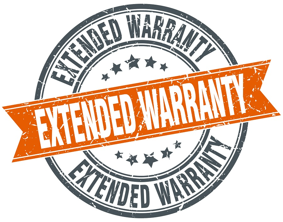 extended warranty sign