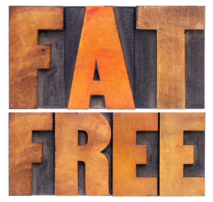 fat free words