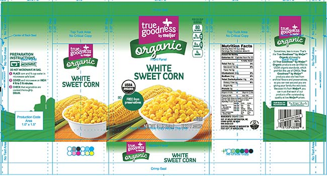 Recalled CRF frozen food
