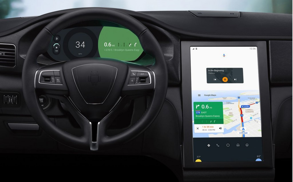 Google Android infotainment system