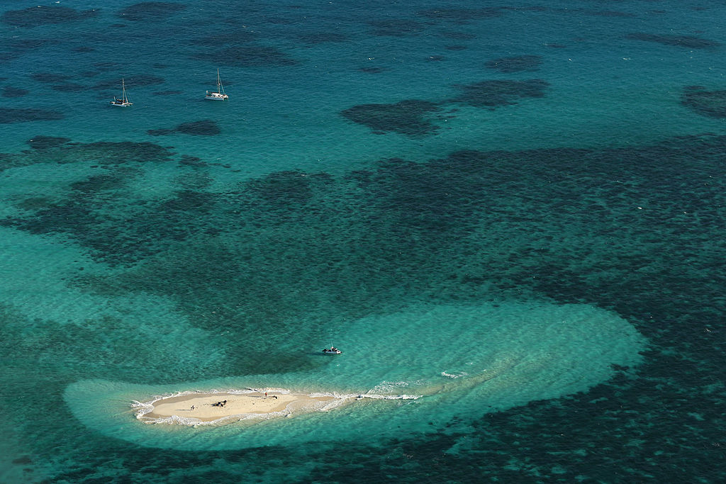 Vlassof Cay in the Great Barrier Reef