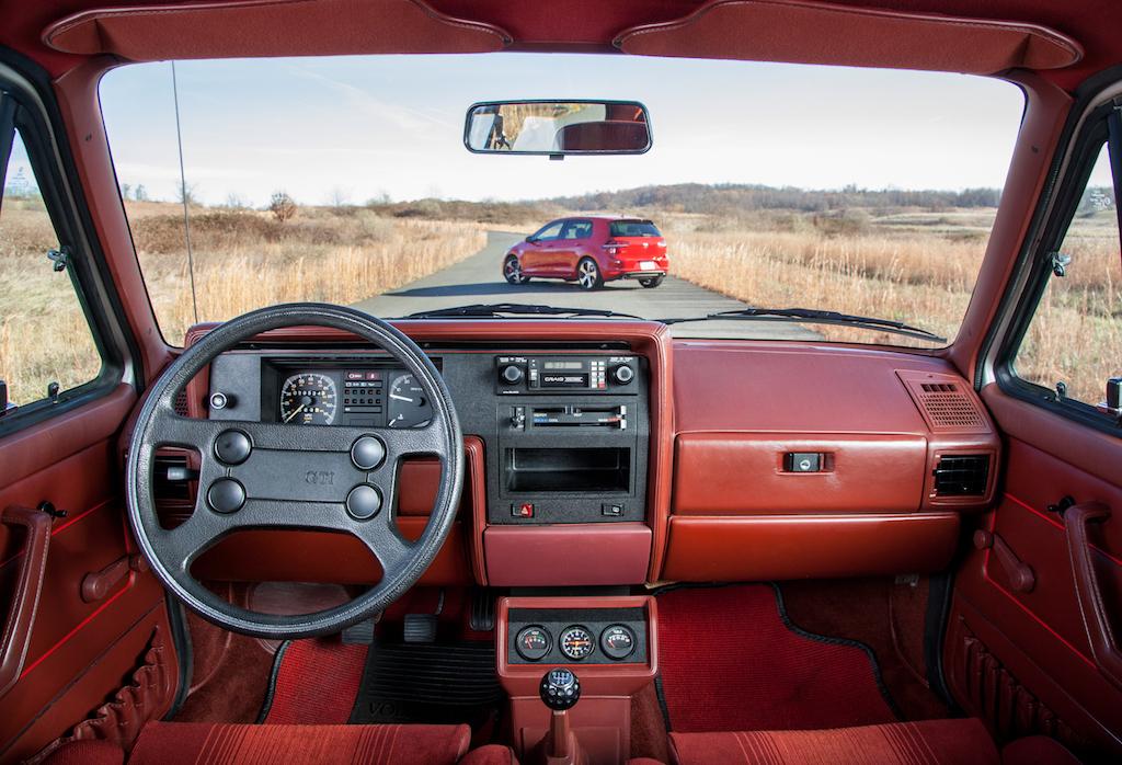 Volkswagen Golf Mk1 GTI interior