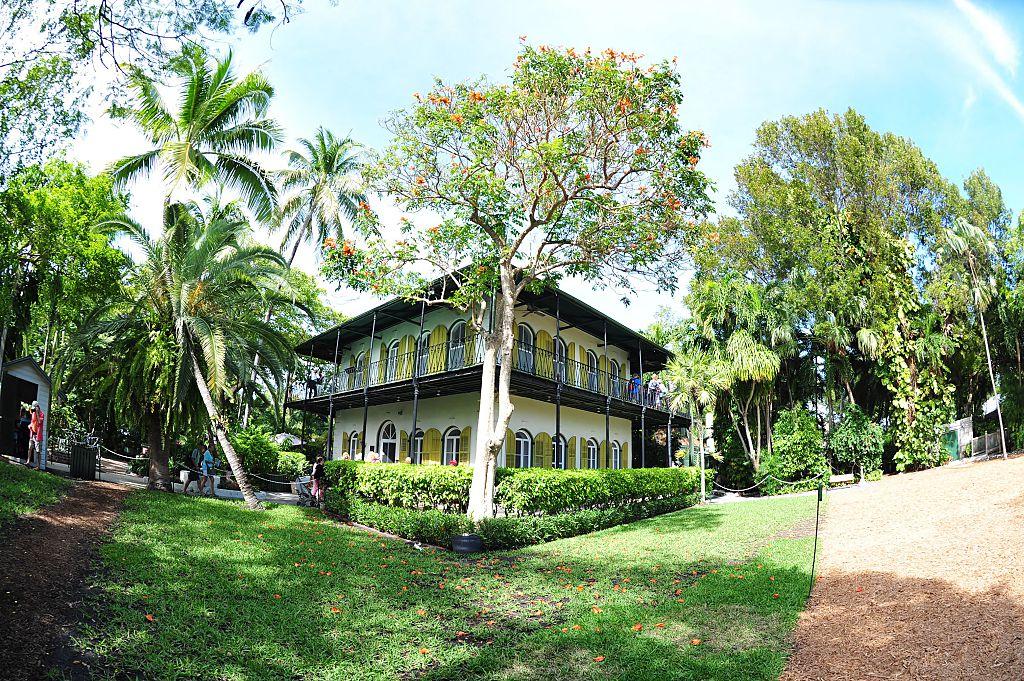 Ernest Hemingway House in Key West, Florida